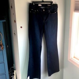 Gap long and lean bootcut jeans